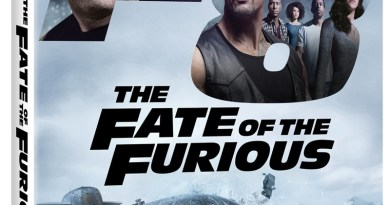 The Fate Of The Furious Blu-Ray/DVD/Digital HD cover (Universal)