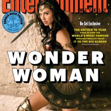 Entertainment Weekly Wonder Woman cover