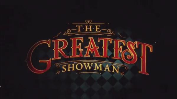 The Greatest Showman title