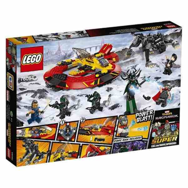 LEGO Super Heroes: The Ultimate Battle For Asgard 76084 back