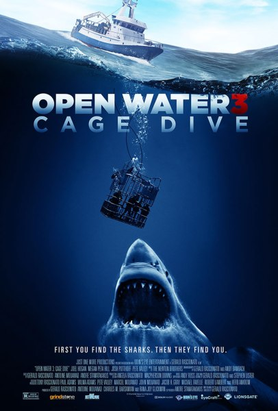 Open Water 3: Cage Dive poster (Lionsgate Home Entertainment)
