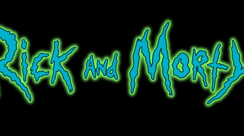 Rick and Morty logo (Adult Swim)