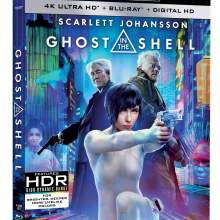 Ghost In The Shell 4K Ultra HD Combo Cover (Paramount Pictures)