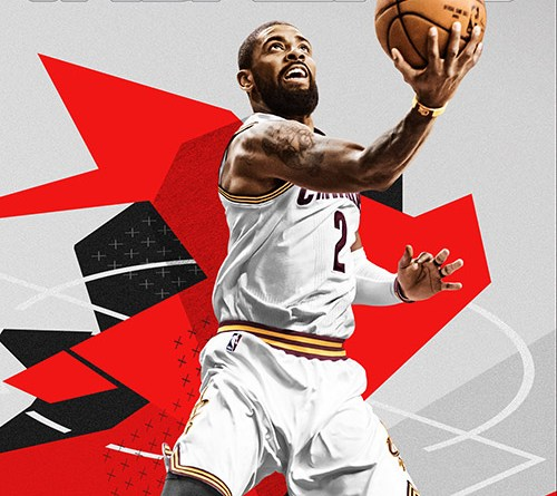 NBA 2K18 cover athlete Kyrie Irving