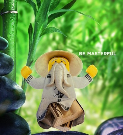 The LEGO Ninjago Movie character posters (Warner Bros. Pictures)