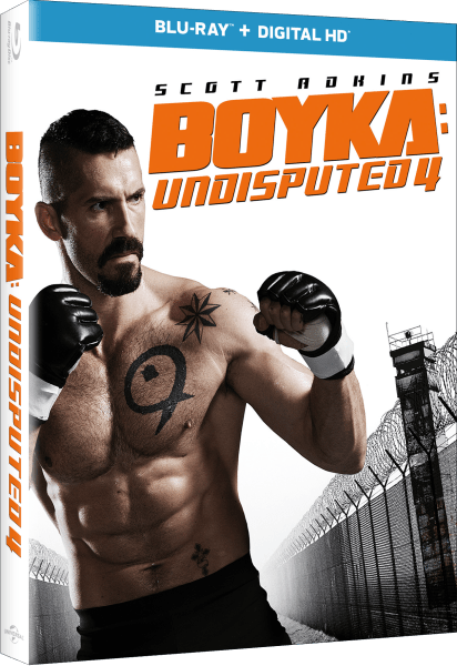 Boyka: Undisputed 4 Blu-Ray/Digital HD cover (Universal Pictures Home Entertainment)-1