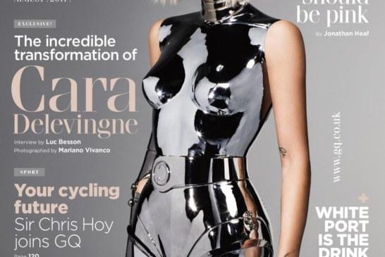 Cara Delevingne Covers British GQ