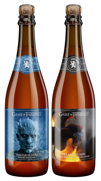 Ommegang Game of Thrones Fire and Blood 2017 Bottle 750ml (HBO)