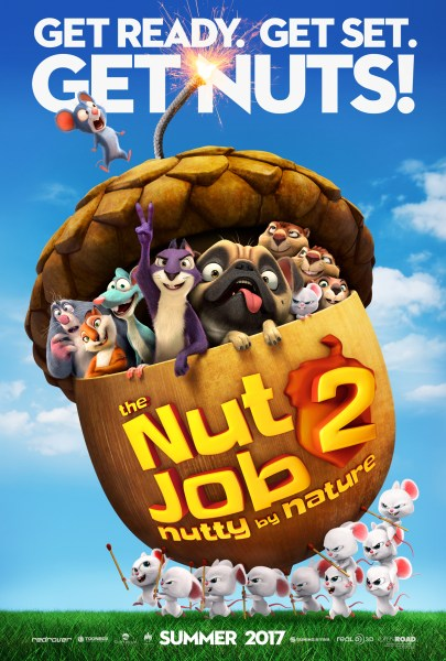 The Nut Job 2: Nutty By Nature poster (Open Road Films)