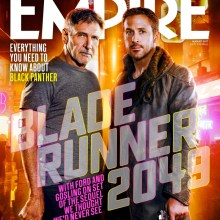 Empire Magazine Harrison Ford/Ryan Gosling Blade Runner: 2049 cover