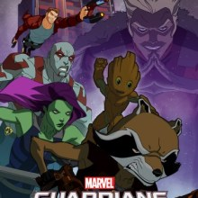 Marvel's Guardians Of The Galaxy: Mission Breakout poster (Disney XD)