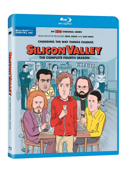 Silicon Valley: The Complete Fourth Season Blu-Ray/Digital HD (HBO)