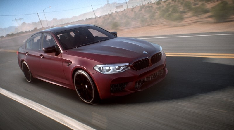 EA And BMW Debut BMW M5 Need For Speed Payback