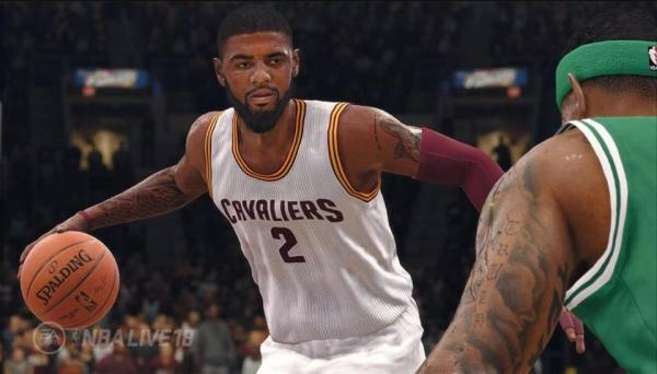 Kyrie Irving from NBA Live '18 (EA Sports)