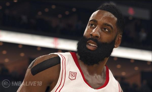 James Harden from NBA Live '18 (EA Sports)