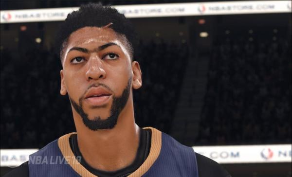Anthony Davis from NBA Live '18 (EA Sports)