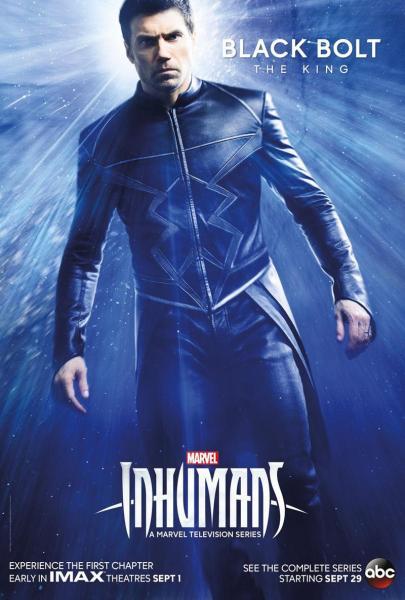 Marvel's Inhumans Black Bolt poster (Marvel Studios/ABC)