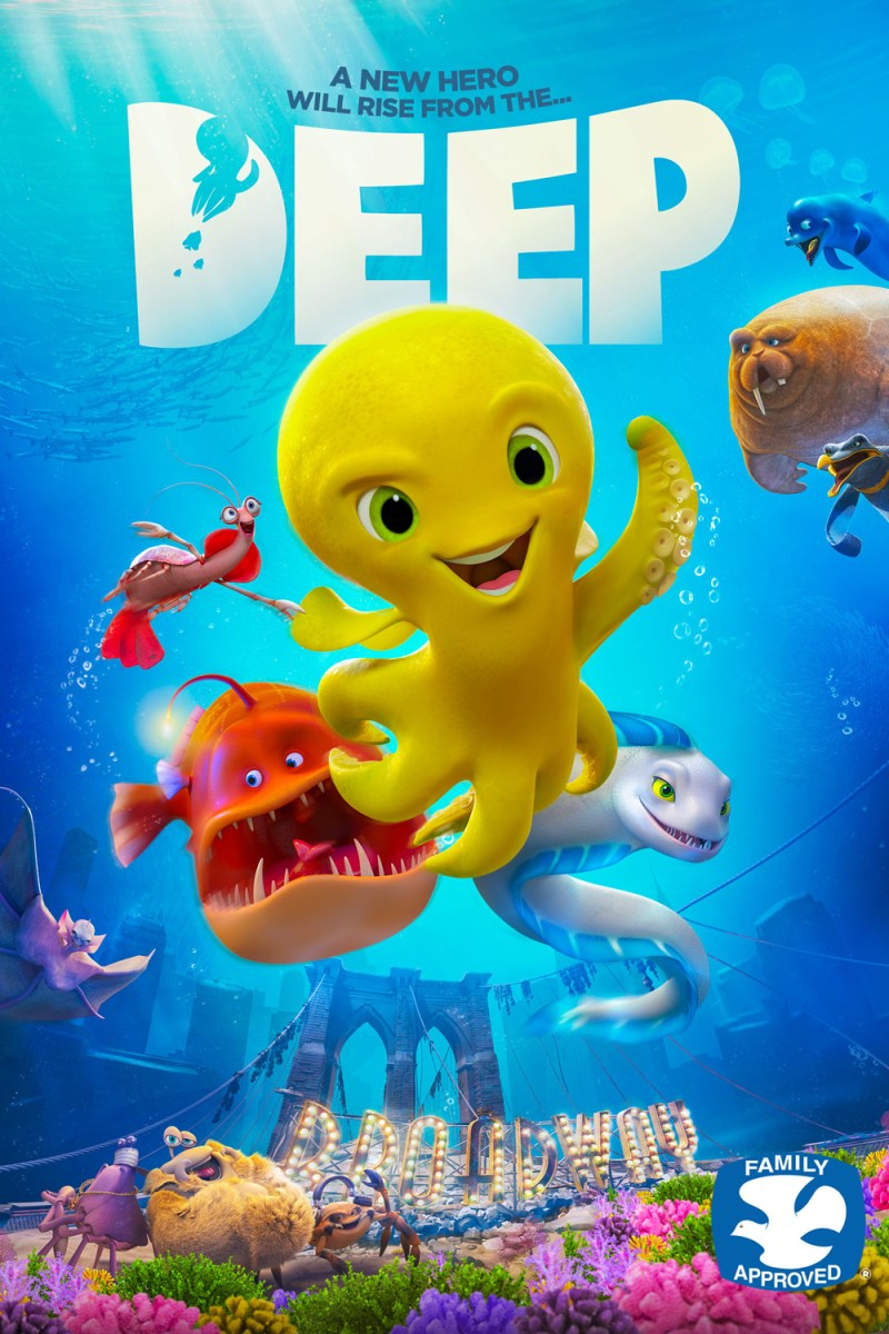 DEEP Gets Trailerization And Posterization From Lionsgate