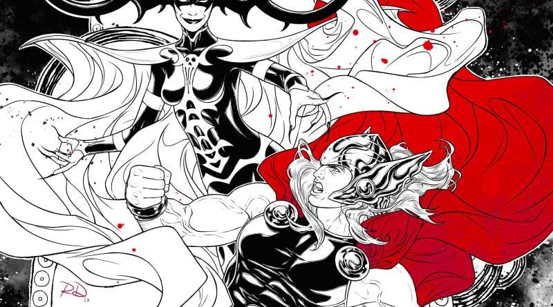 Empire Magazine's Thor: Ragnarok subscriber's cover