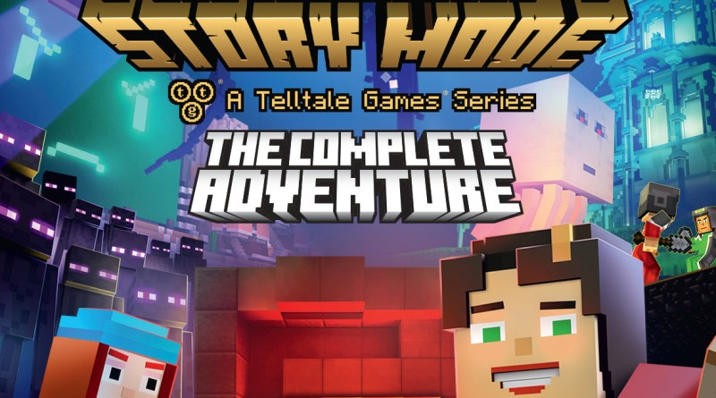 Minecraft: Story Mode - The Complete Adventure Nintendo Switch (Telltale Games)