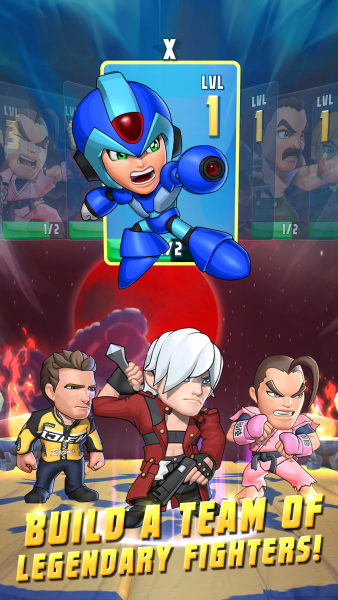 Puzzle Fighter screenshot (Capcom)