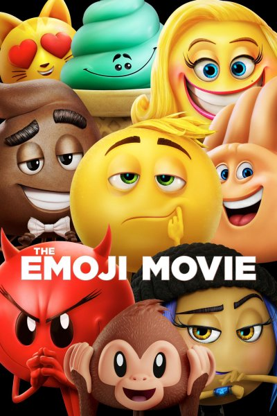 "Poster for the movie ""The Emoji Movie"""