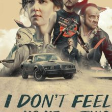 "Poster for the movie ""I Don't Feel at Home in This World Anymore"""