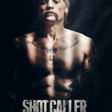 "Poster for the movie ""Shot Caller"""