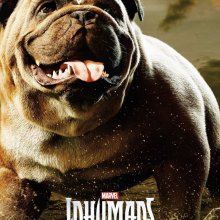 Marvel's Inhumans Lockjaw character poster (Marvel/ABC/IMAX)