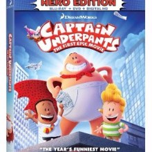 Captain Underpants: The First Epic Movie (20th Century Fox Home Entertainment/DreamWorks Animation)