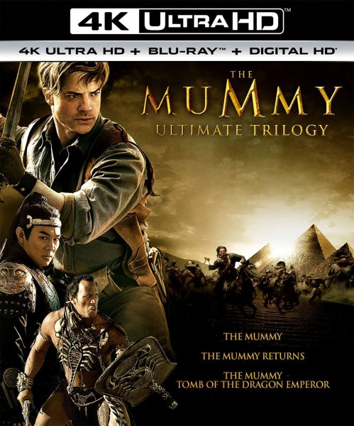 The Mummy Ultimate Trilogy 4K Ultra HD/Blu-Ray/Digital HD (Universal Pictures Home Entertainment)