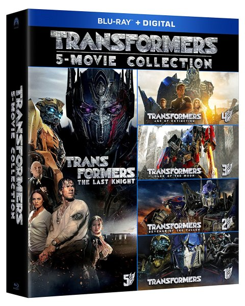 Transformers The 5-Movie Collection (Paramount Home Entertainment)