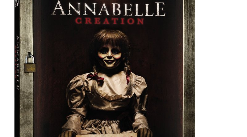 Annabelle Blu-Ray/DVD/Digital HD (Warner Bros. Home Entertainment)