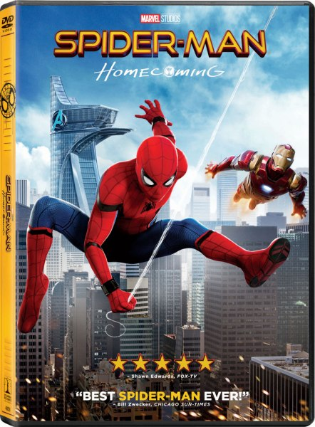 Spider-Man: Homecoming DVD (Sony Pictures Home Entertainment)