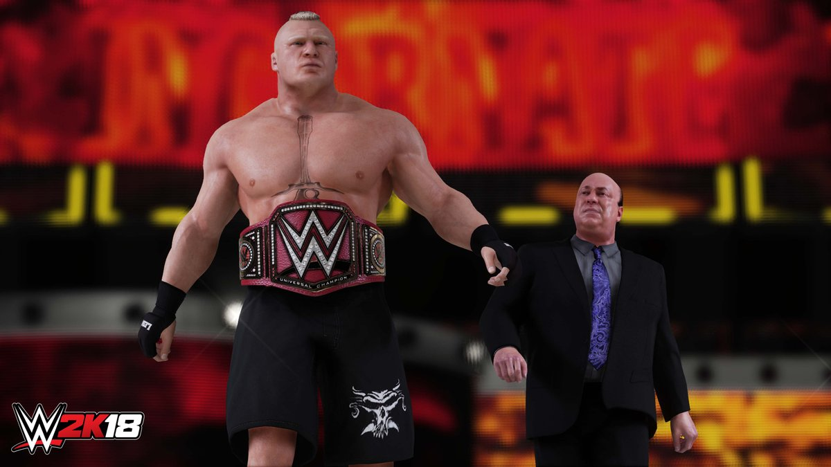WWE 2K18 Official Gameplay Trailer Released!