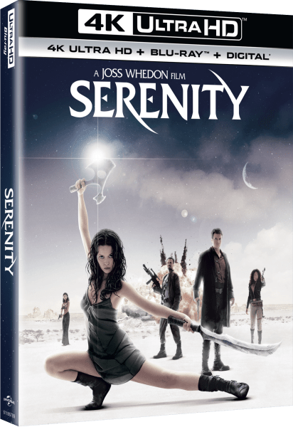 Serenity 4K Ultra HD/Blu-Ray/Digital HD (Universal Pictures Home Entertainment)