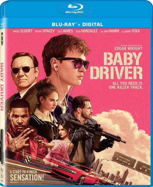 Baby Driver Blu-Ray/Digital HD (Sony Pictures Home Entertainment)