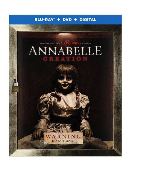 Annabelle: Creation Blu-Ray/DVD/Digital HD (Warner Bros. Home Entertainment)