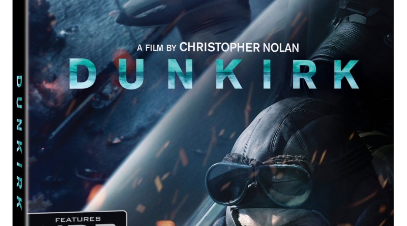 Dunkirk 4K Ultra HD/Blu-Ray/Digital HD cover (Warner Bros. Home Entertainment)