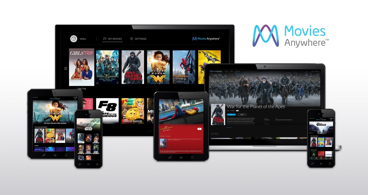 Movies Anywhere Launches Today
