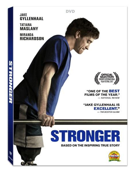 Stronger DVD (Liosngate Home Entertainment)