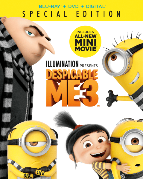 Despicable Me 3 4K Ultra HD/Blu-Ray/Digital HD (Universal Pictures Home Entertainment)