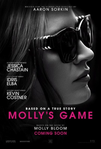 Molly's Game poster (STX Films/STX Entertainment)