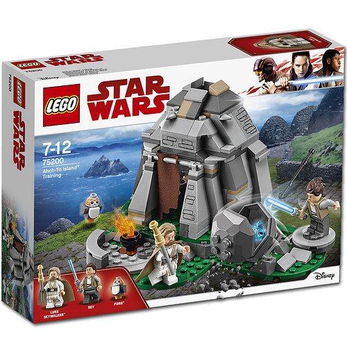 LEGO Star Wars Ahch To Island-Training 75201