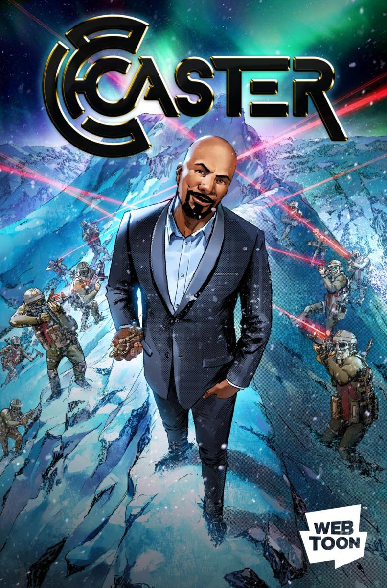 "Common Joins Forces with LINE Webtoon on comic series ""Caster"""