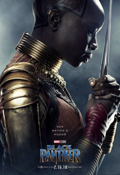 Marvel's Black Panther character poster (Marvel Studios)