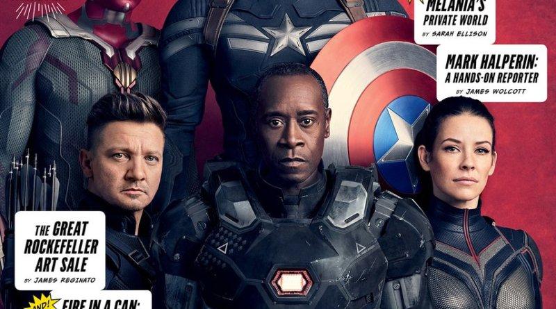 Avengers: Infinity War Vanity Fair cover