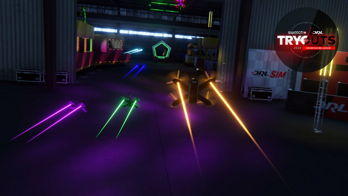 Drone Racing League Launches DRL Simulator and Announces 2018 Swatch DRL Tryout