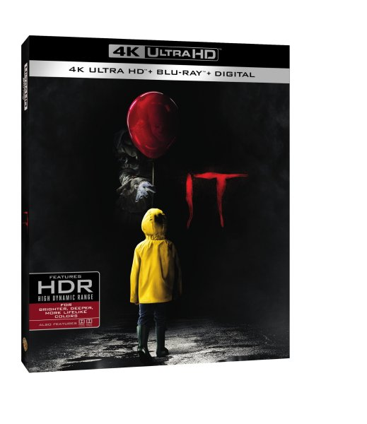 IT 4K Ultra HD/Blu-Ray/Digital HD (Warner Bros. Home Entertainment