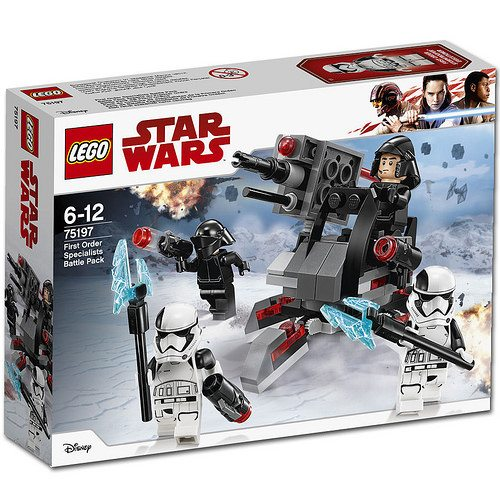 LEGO Star Wars First Order Specialists Battle Pack 75198